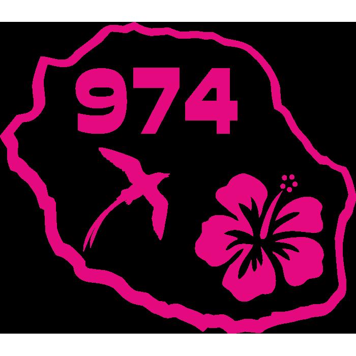 Ile De La Reunion Paille En Queue Hibiscus