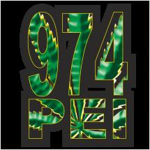 Stickers Réunion 974 Peï