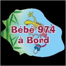 Stickers Réunion Bébé ile de la Réunion
