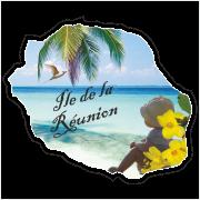 Stickers Réunion Ile camille