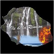 Stickers Réunion Ile numérique 2