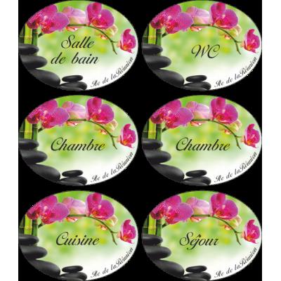 stickers pour porte