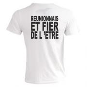 T.Shirt noir réunionnais