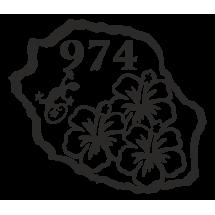 ile de la Réunion hibiscus ML