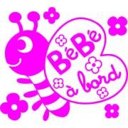 bébé à bord abeille