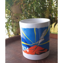Mug Drapeau paille en queue