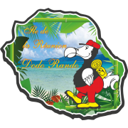Stickers Réunion Ile de la réunion dodo rando
